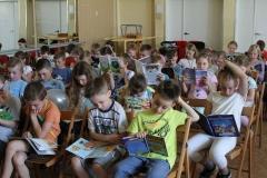 Czytanie maluchów, czerwiec 2017