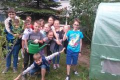 Zajęcia ogrodnicze czerwiec 2017